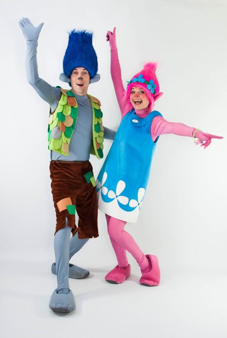Тролль цветан костюм фото